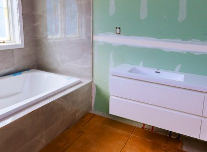 How to install moisture-resistant plasterboard