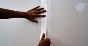 How to tape and joint plasterboard walls